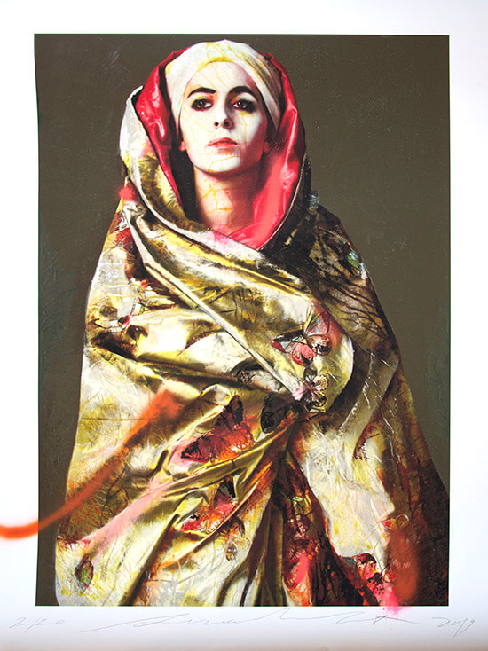 The secret behind the veil lita cabellut